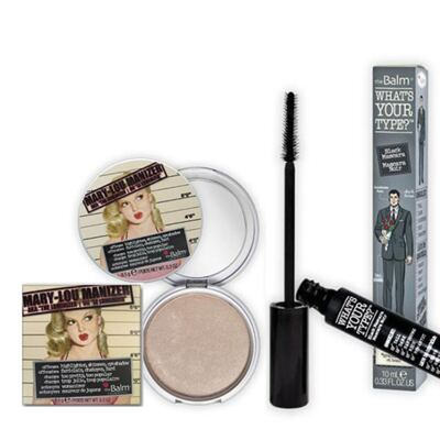 Imagem 1 do produto Mary Lou Manizer + Whats your type? The Balm - Kit Iluminador Facial + Máscara para Cílios - Kit