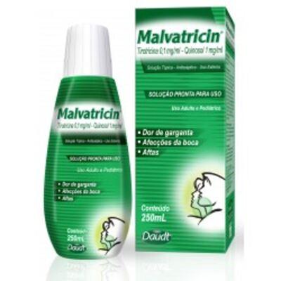 Imagem 1 do produto Antisséptico Bucal Malvatricin 250ml