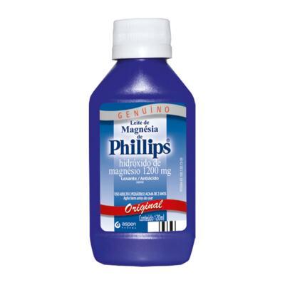 Imagem 1 do produto Leite de Magnésia de Phillips Original 120ml