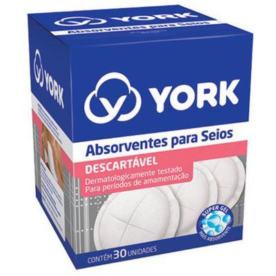 Imagem 1 do produto Absorvente para Seios York 30 Unidades