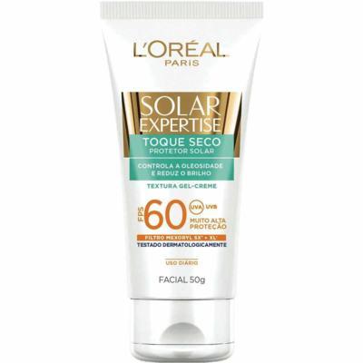 Imagem 3 do produto Protetor Solar L'Oréal Facial Expertise Toque Seco FPS 60 50g