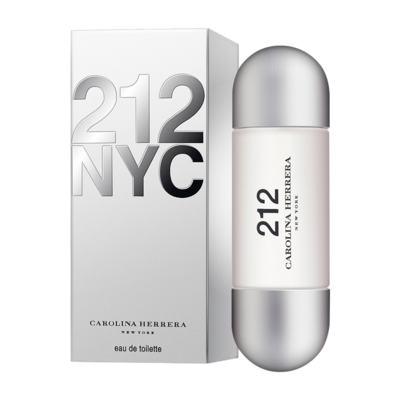 212 De Carolina Herrera Eau De Toilette Feminino - 60 ml