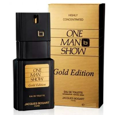 Imagem 2 do produto One Man Show Gold Jacques Bogart - Perfume Masculino - Eau de Toilette - 100ml