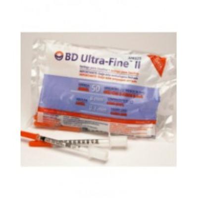 Imagem 1 do produto Seringa BD Ultra Fine Ii 0,5ml Agulha 8 0x0 3 C/10