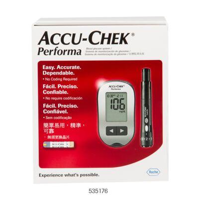 Kit Tiras Medidoras de Glicose Accu Check Performa Roche