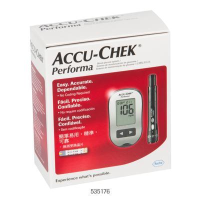 Imagem 2 do produto Kit Tiras Medidoras de Glicose Accu Check Performa Roche