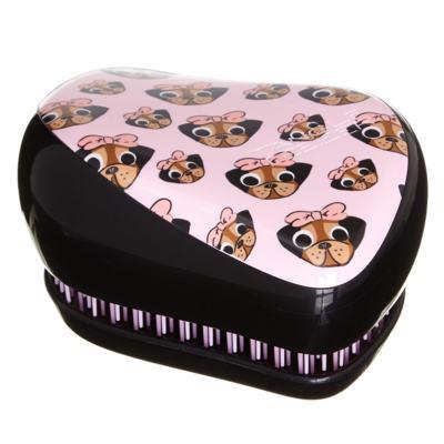Escova de Cabelos Tangle Teezer Compact Style Edição Limitada Pug Love - 1 Un
