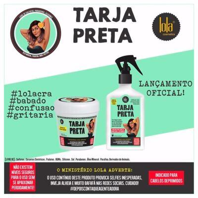 Imagem 2 do produto Lola Cosmetics Tarja Preta Queratina Vegetal - Tratamento - 250ml