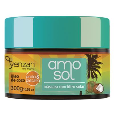 Yenzah Amo Sol, Praia e Piscina - Máscara Ultra Hidratante - 300g