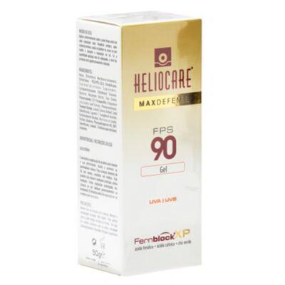 Imagem 2 do produto Heliocare Max Defense Gel FPS 90 Heliocare - Protetor Solar - 50g