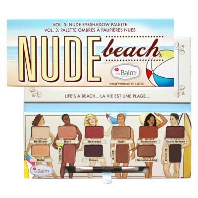 Paleta de Sombras The Balm - Nude Beach - Estojo