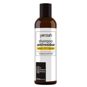 Yenzah Whey Fit Cream - Shampoo Antirresíduos - 240ml