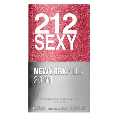 Imagem 3 do produto 212 Sexy Pills Carolina Herrera - Perfume Feminino - Eau de Parfum - 20ml