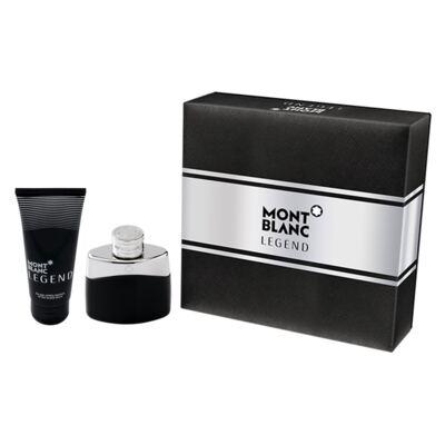 Legend Montblanc - Masculino - Eau de Toilette - Perfume + Pós Barba - Kit