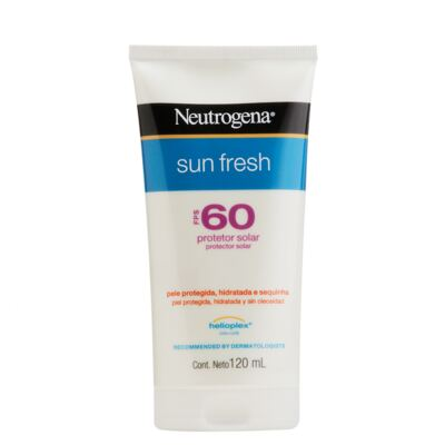 Protetor Solar Neutrogena Sun Fresh FPS 60 120ml