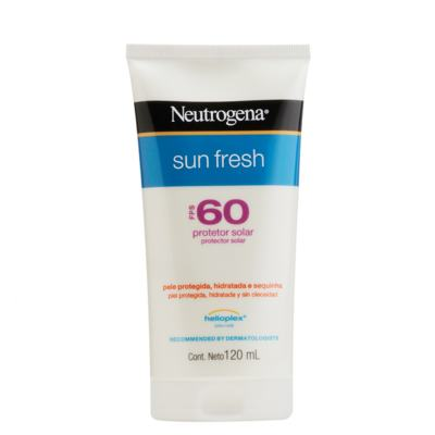 Protetor Solar Neutrogena Sun Fresh FPS 60 120ml