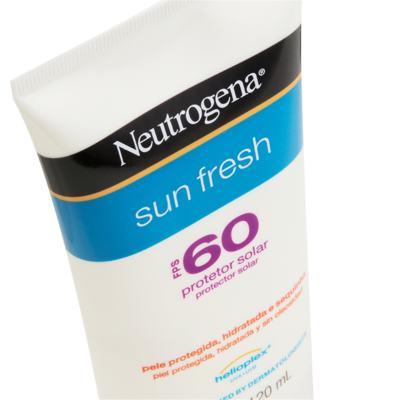 Imagem 2 do produto Protetor Solar Neutrogena Sun Fresh FPS 60 120ml