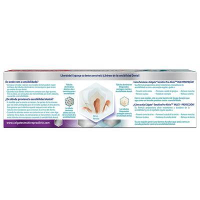 Imagem 4 do produto Creme Dental Colgate Sensitive Pro-Alívio Multiproteção 110g