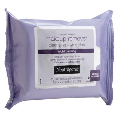 Imagem 1 do produto Lenço Demaquilante Neutrogena Night Calming 25 Unidades
