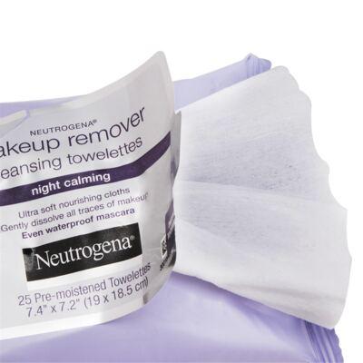 Imagem 3 do produto Lenço Demaquilante Neutrogena Night Calming 25 Unidades