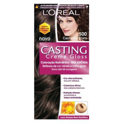 Tintura L'Oréal Casting Gloss 500 Castanho Claro