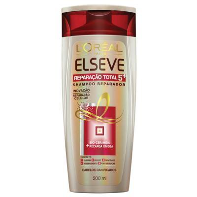 Imagem 1 do produto Shampoo Elseve Reparação Total 5 200ml