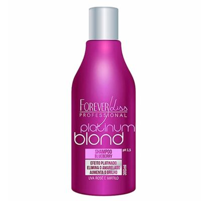 Imagem 3 do produto Kit Shampoo + Máscara Matizadora Forever Liss Professional Platinum Blond - Kit