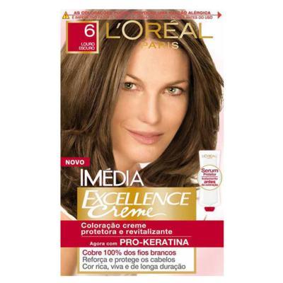 Imagem 1 do produto Tintura Imédia L'Oréal 6 Louro Escuro