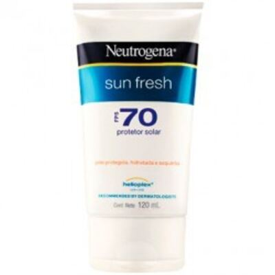 Imagem 1 do produto Protetor Solar Neutrogena Sun Fresh FPS 70 120ml