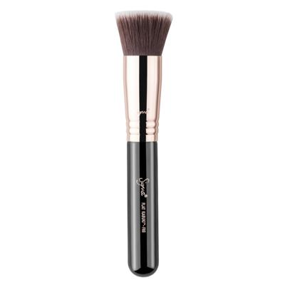 Pincel para Base Sigma Beauty F80 Flat Kabuki Brush Copper - 1 Un