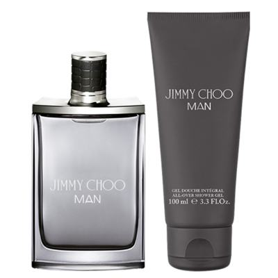 Jimmy Choo Man Eau de Toilette Jimmy Choo - Kit de Perfume Masculino 50ml + Gel de Banho 100ml - Kit