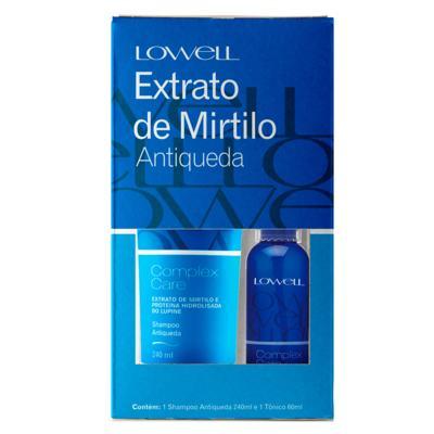 Imagem 1 do produto Lowell Complex Care Mirtilo Kit - Shampoo + Tônico Capilar - Kit