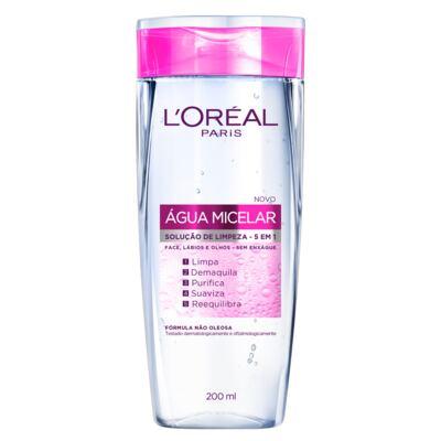 Imagem 1 do produto Tônico de Limpeza Facial 5 em 1 L'Oréal Água Micelar 200ml