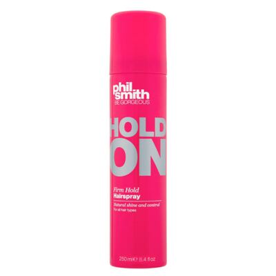 Phil Smith Hold On Firm Hold Hairspray - Spray Fixador - 250ml