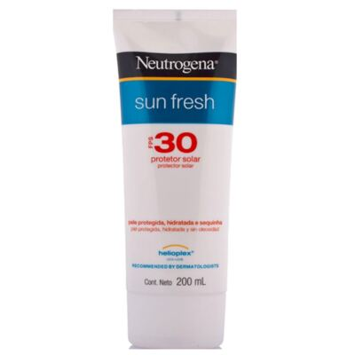 Imagem 2 do produto Protetor Solar Neutrogena Sun Fresh FPS 30 200ml