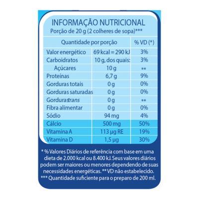 Imagem 1 do produto Leite em Pó Desnatado Molico Total Cálcio Lata 280g