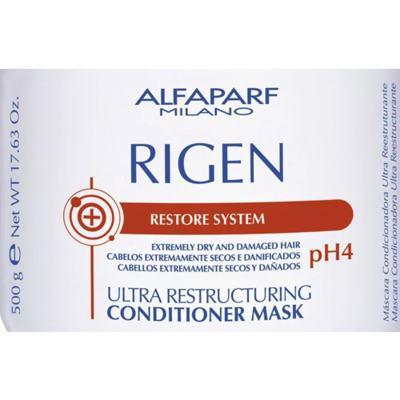 Imagem 2 do produto Alfaparf Rigen Ultra Restructuring Conditioner Mask pH4 - Máscara Capilar - 500g