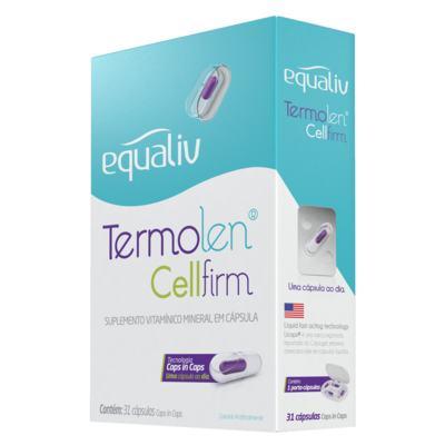 Imagem 1 do produto Termolen Cellfirm Equaliv - Suplemento Vitaminico - 31 Cáps