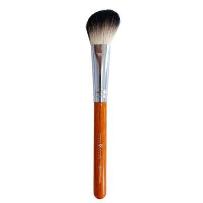 Pincel Chanfrado para Blush e Contorno Brown 3 Facial Klass Vough - Pincel Profissional Chanfrado para Blush - 1 Un