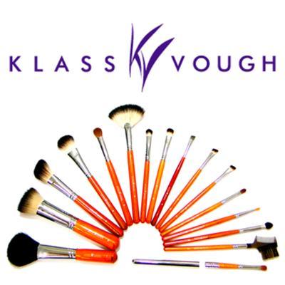 Imagem 4 do produto Pincel Chanfrado para Blush e Contorno Brown 3 Facial Klass Vough - Pincel Profissional Chanfrado para Blush - 1 Un