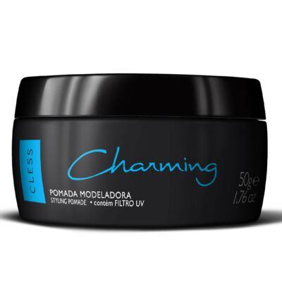 Pomada Modeladora para Cabelos Charming Black 50g