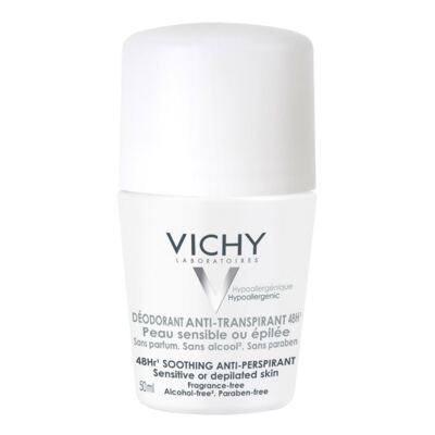 Imagem 1 do produto Desodorante Roll On Vichy Peles Sensíveis Antitranspirante 48h 50ml