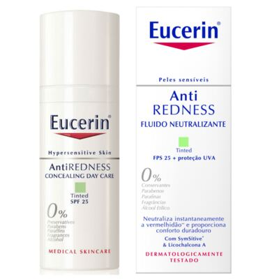 Creme Facial Eucerin Anti-Redness Fluído Neutralizante FPS 25 50ml