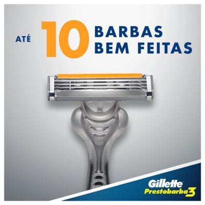 Imagem 5 do produto Aparelho de Barbear Gillette Prestobarba 3 - 4 Unidades