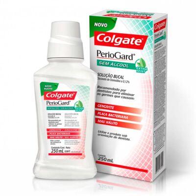 Imagem 2 do produto Enxaguante Bucal Colgate PerioGard Extra Mint 250ml