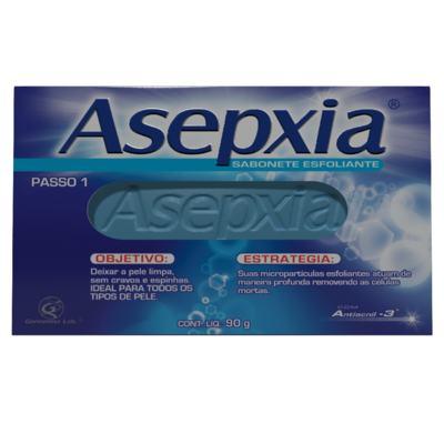 Imagem 1 do produto Sabonete Esfoliante Asepxia - 90g