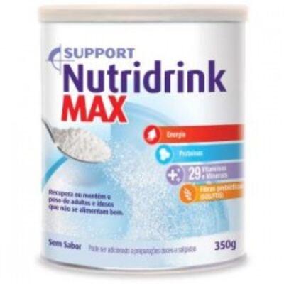 Nutridrink Max Danone Sem Sabor 350g