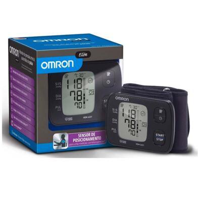 Imagem 1 do produto Monitor de Pressão Arterial Omron Elite Automático de Pulso