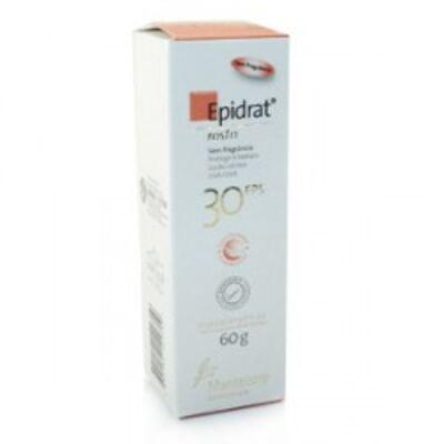 Imagem 1 do produto Protetor Solar Epidrat FPS30 Para Rosto Mantecorp Skincare 60g