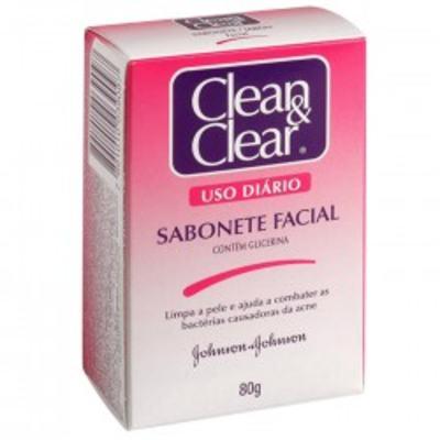 Sabonete Clean & Clear Facial 80g